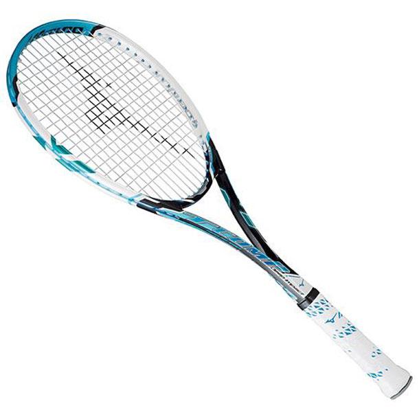 『フレームのみ』ソフトテニスラケット ディープインパクト Tコンプ(24ジェムブルー)【MIZUNO】ミズノソフトテニス(63JTN55224)*61