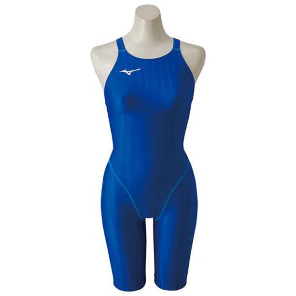 ハーフスーツ(レディース)【MIZUNO】ミズノスイム 競泳水着 ストリームアクセラ(N2MG8221)*25