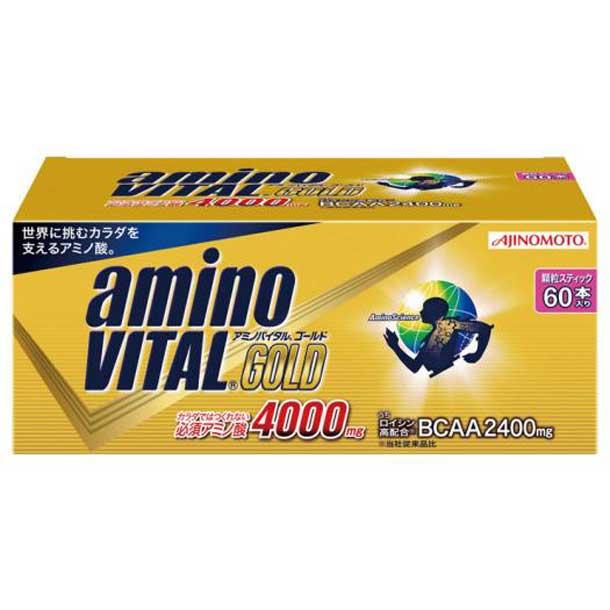 味の素/アミノバイタルゴールド(60本入り)×1箱【MIZUNO】ミズノフィットネス サプリメント アミノバイタル(36JAM84200)*00