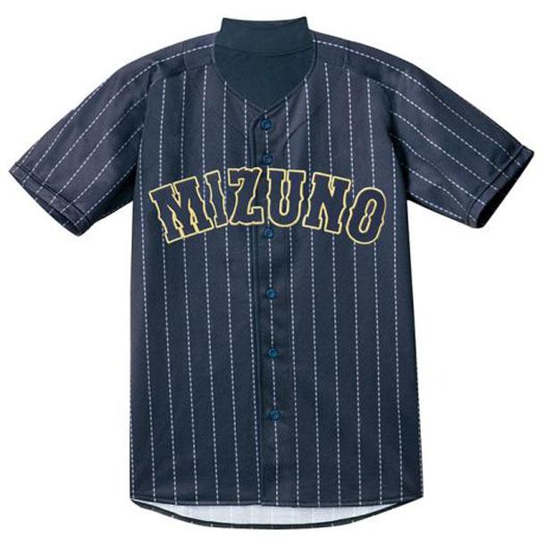 シャツ/オープンタイプ(2014世界モデル/ビジターモデル・メンズ)【MIZUNO】ミズノ野球 ユニフォーム ユニフォームシャツ(12JC7F20)*28