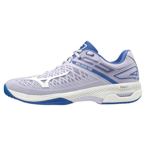 ウエーブエクシード ツアー4 AC【MIZUNO】ミズノテニス/ソフトテニス シューズ オールコート(61GA2070)*25