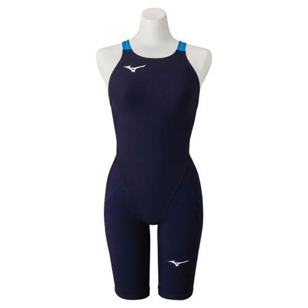 競泳用MX・SONIC α ハーフスーツ(レディース)(20オーロラブルー)【MIZUNO】ミズノスイム 競泳水着 MX・SONIC α(N2MG0212)*27