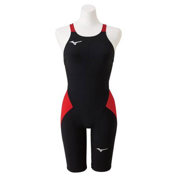 競泳用MX・SONIC α ハーフスーツ(ジュニア)(96ブラック×レッド)【MIZUNO】ミズノスイム 競泳水着 MX・SONIC α(N2MG0411)*27