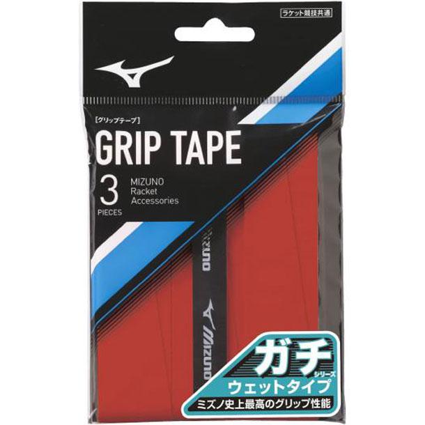 ガチグリップ 開催中 ウエットタイプ 3本入り ソフトテニス MIZUNO グリップテープ アクセサリー 100%品質保証! 23 63JYA001 ミズノテニス