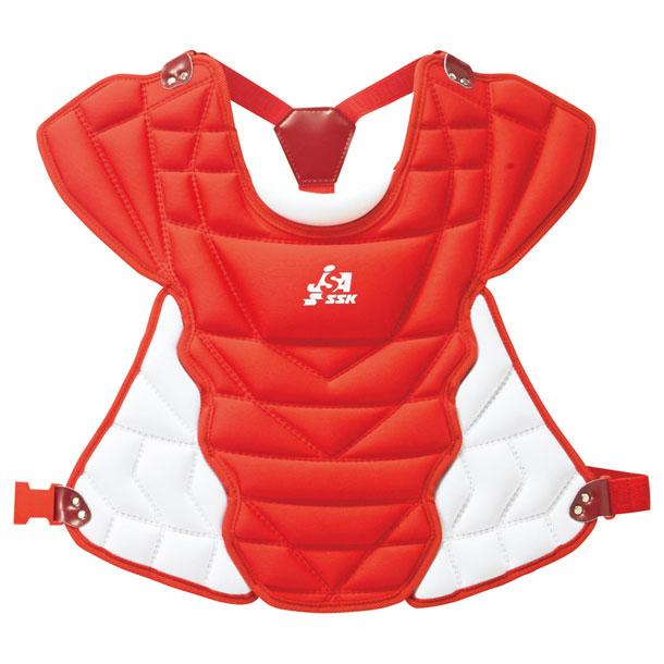 少年ソフトボール用プロテクター【SSK】エスエスケイソフトボール用(CSPJ110C)*27
