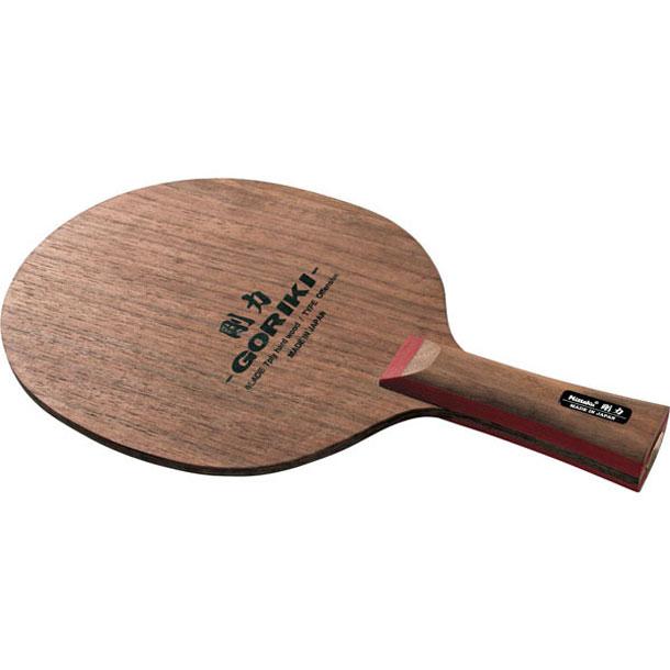 剛力 FL【Nittaku】ニッタクシェークハンド卓球ラケット(NE6115)*20