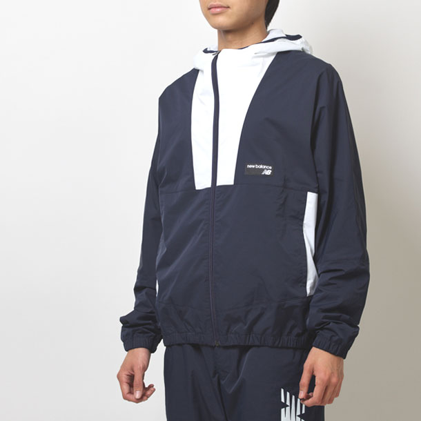 NBウィンドブレーカー【New Balance】ニューバランスウィンドブレーカーシャツ(JMJL9504)*21