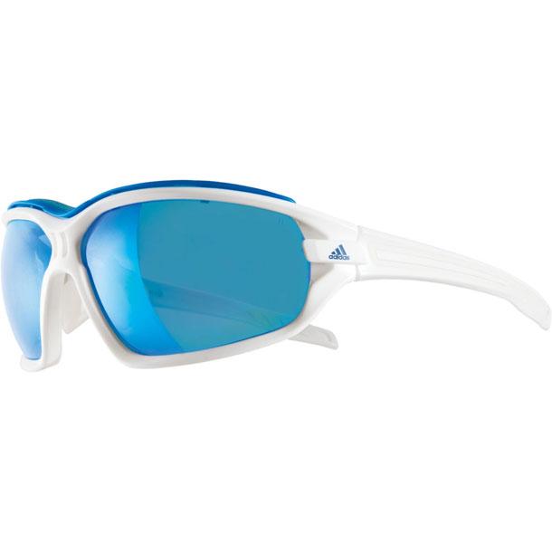ランニング サングラス evil eye evo pro Sサイズ シャイニーホワイト【adidas】アディダス リクジョウサングラス(A194016052)*27