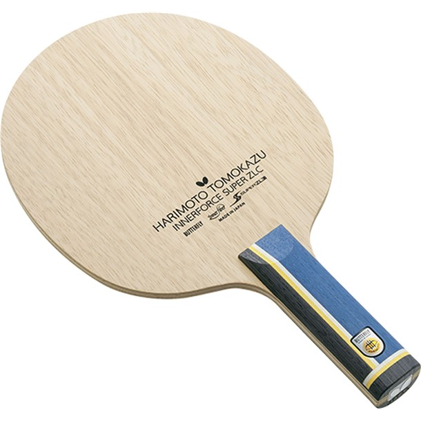 ハリモト インナーフォースSUPER ZLC-ST【butterfly】バタフライタッキュウシェークラケット(37024)*00