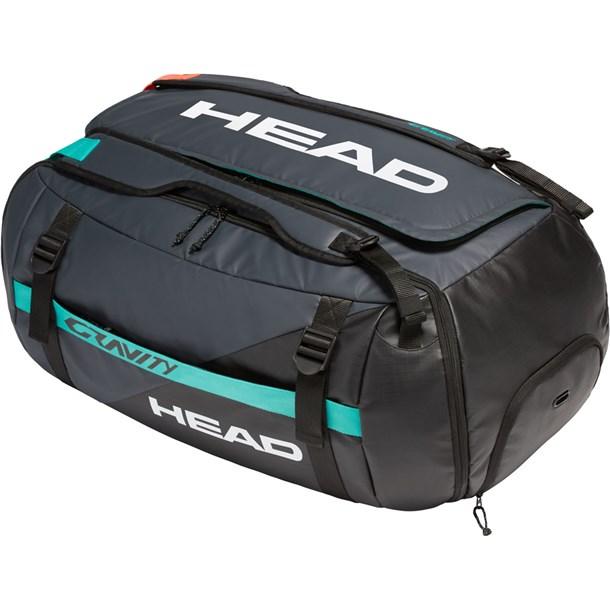 GRAVITY DUFFLE BAG【head】ヘッドテニスダッフル・ボストン(283000-bkte)*00