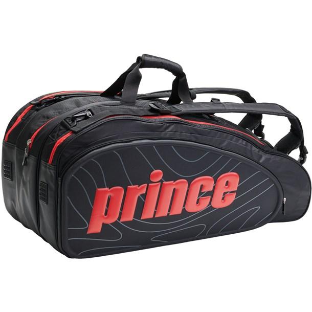 TT900 ラケットバッグ12ホンイリ【prince】プリンステニスラケットバッグ(tt900-236)*00