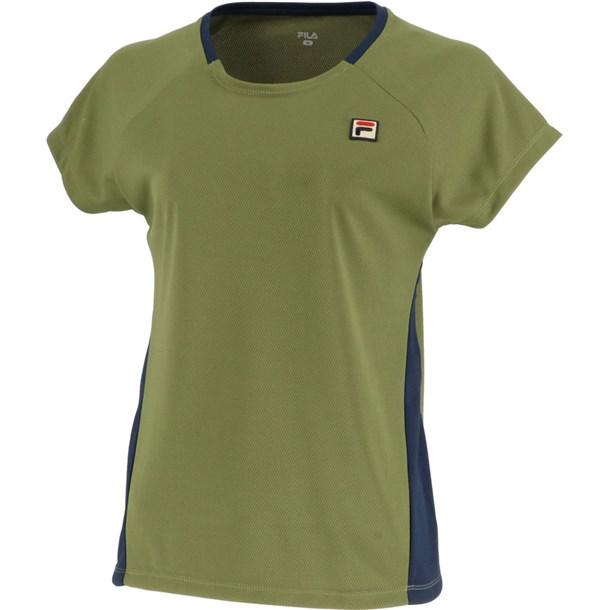 93 ゲームシャツ【fila】フィラテニスゲームシャツ W(vl1995-24)*11