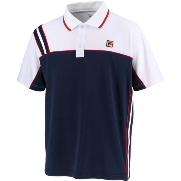 93 ゲームポロシャツ【fila】フィラテニスゲームシャツ M(vm5432-20)*11