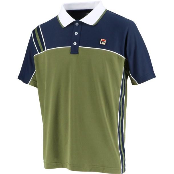 93 ゲームポロシャツ【fila】フィラテニスゲームシャツ M(vm5432-24)*11