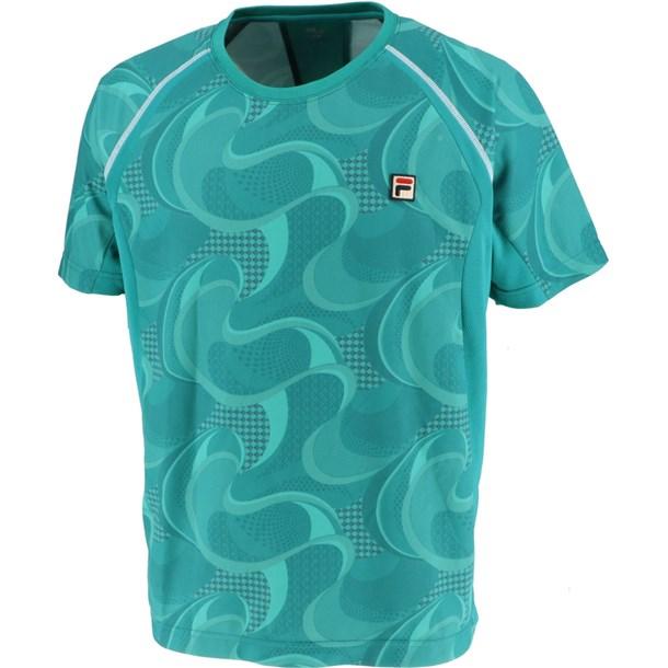 93 ゲームシャツ【fila】フィラテニスゲームシャツ M(vm5434-26)*11