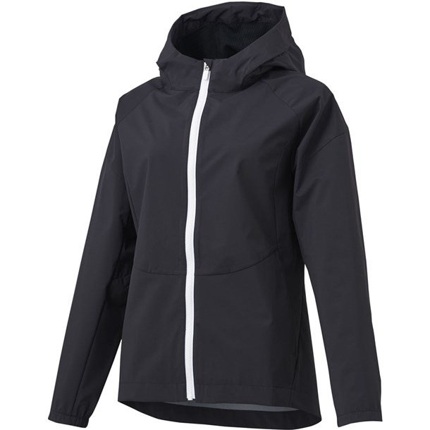 2.5レイヤーフーデッドジャケット【descente】デサントマルチSPトレーニングシャツ W(dmwpjc30z-bk)*20