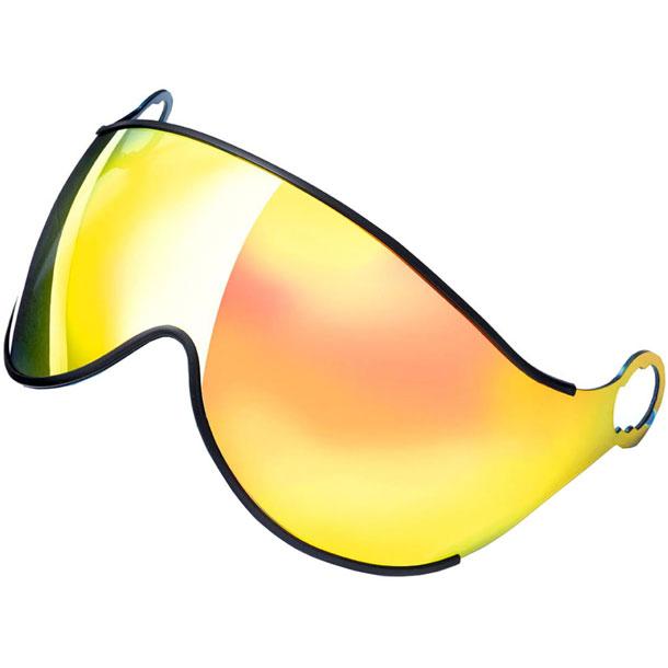 スキー ヘルメット 取リ替エ用レンズ 2G flash gold mirror フラッシュゴールドミラー【CP】シーピースキーヘルメット(CPC1641)*20
