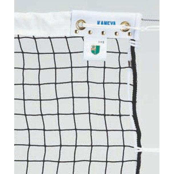ソフトテニス用 スタンダードクラスネット PE44 DY【KANEYA】カネヤテニスネット(K1322DY)*15