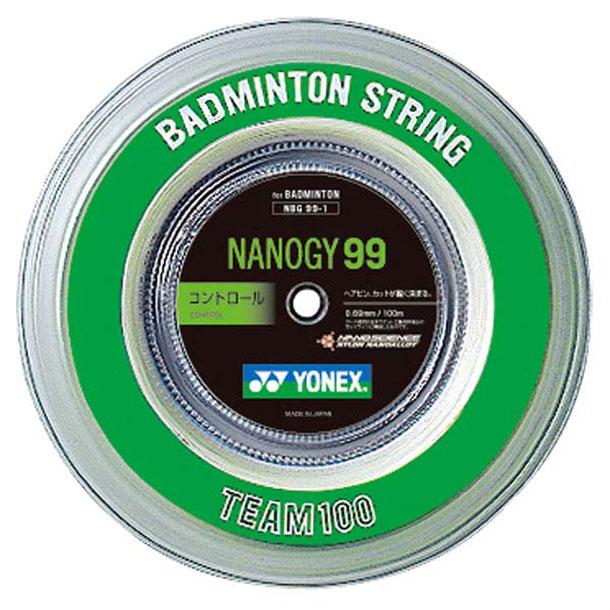 ナノジー99 100m【Yonex】ヨネックスバドミントガツト(NBG991-011)*21