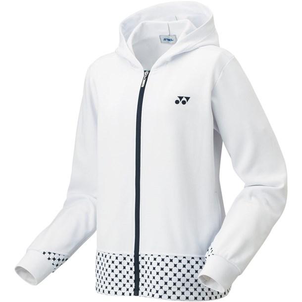 ウィメンズニットウォームアップパーカー【Yonex】ヨネックステニストレーニングシャツ W(58079-011)*20