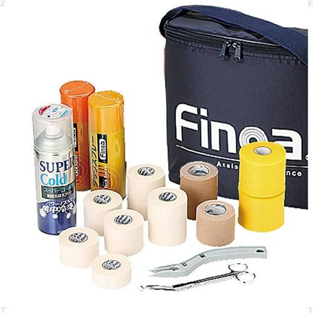 FINOA トレーナーズバックキットネイビー【Finoa】フィノアボディケアグッズソノタ(948)*19