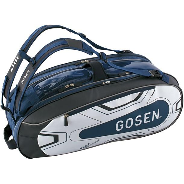 ラケットバッグ PRO4【GOSEN】ゴーセンテニスラケットバッグ(ba18pr4g-17)*20