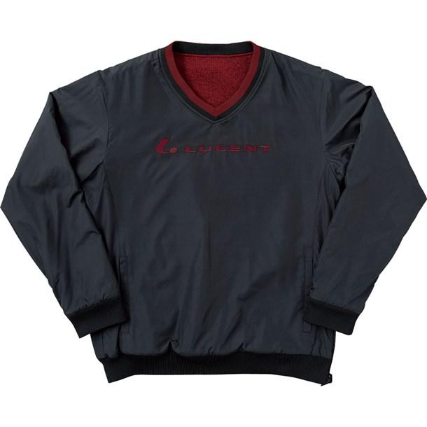 LUCENT リバーシブル トレーナーU BK【LUCENT】ルーセントテニススウェットトレーナー(xlt5199)*20