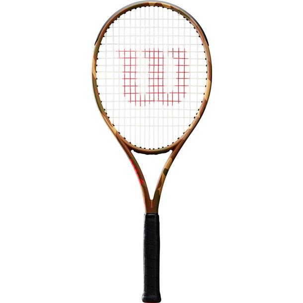BURN 100LS CAMOUFLAGE2【Wilson】ウィルソンテニスラケット コウシキ(wrt7412202)*20