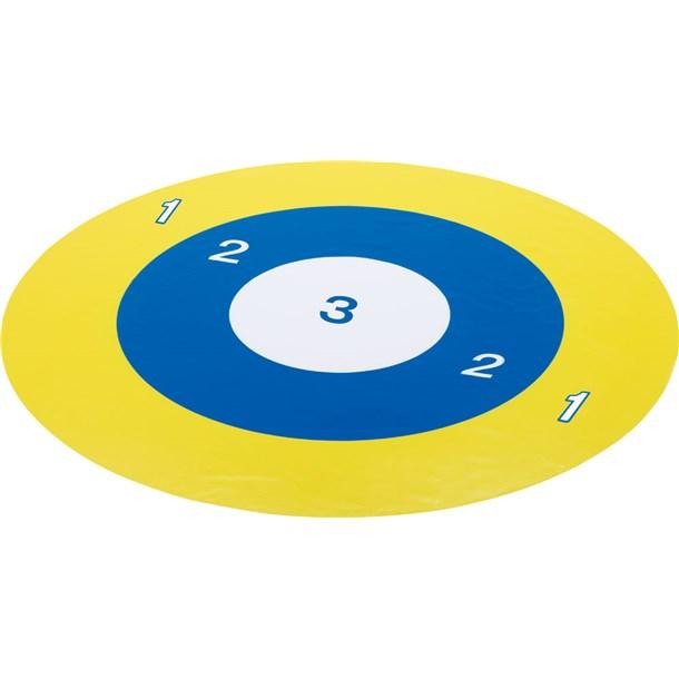 ボッチャボールヨウターゲットマット5Cエバニュー(evernew)ガッコウキキマット(ete033)*10