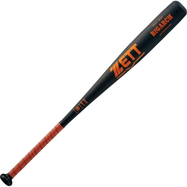 硬式バットアルミバット BIGARCH【ZETT】ゼット野球ソフトバット硬式アルミ(BAT11984-1900)*25