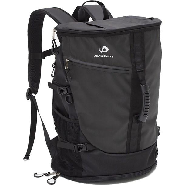 スポーツバックパック メタックス ブラック【phiten】ファイテンボディケアバッグ(bv231000)*20