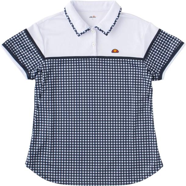 ショートスリーブチームポロ【ellesse】エレッセテニスポロシャツ(ets0810l-wg)*21
