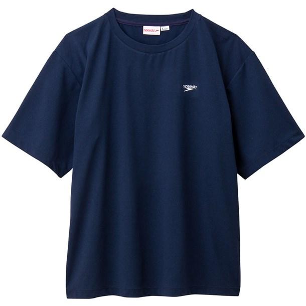 M S/S BACK PRT T【speedo】スピードスイエイハンソデTシャツ(sa31978-nb)*20