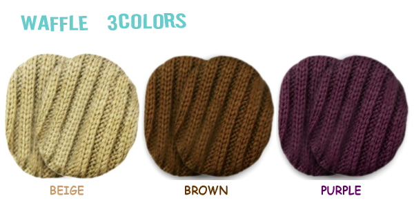 This is by introducing yet lax waffle knit men's and women's Union QVC-hanamaru market ♪ just put in the ears earmuffs ( non-frame ear )! Disturb the hair style from frameless ◎ head not painful!