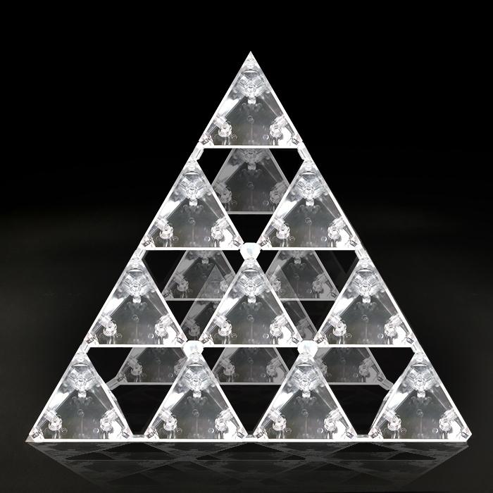 正四面体 ゴッドピラミッド 本物研究所 カタカムナ・ゴッド・ピラミッド 代引手数料無料