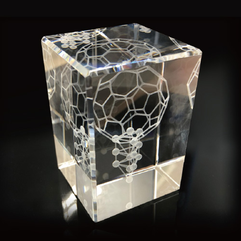 3Dカバラ バッキーカバラ 本物研究所 クリスタルガラス製 代引手数料無料