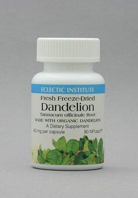 安心 使い勝手の良い 安全なハーブの力Eclectic Institute Inc. メーカー在庫限り品 90粒 エクレクティック ダンディライオン Dandelion
