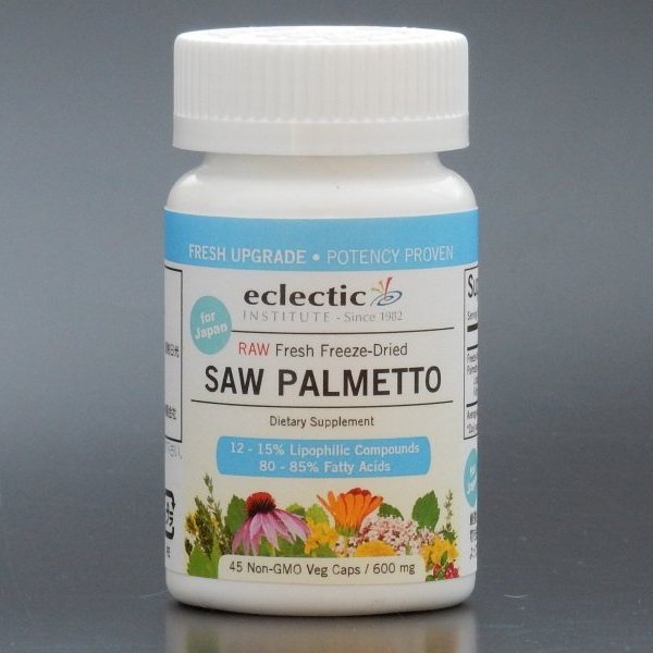 Herbal And Safe Eclectic Insute Inc Saw Palmetto