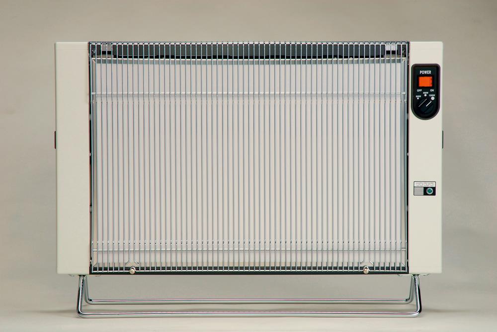 サンラメラ 1201型 ホワイト 14畳まで用 1200W Newタイプ 遠赤外線ヒーター 輻射熱方式