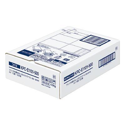 【コクヨ】プリンタを選ばないはかどりラベル KPC-E1101-500