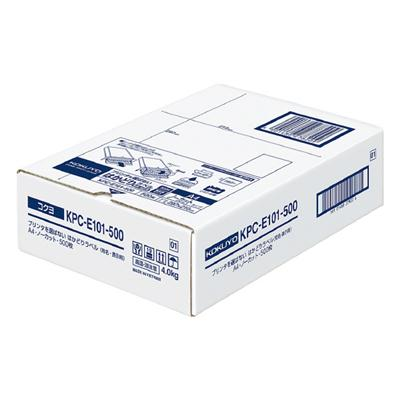 【コクヨ】プリンタを選ばないはかどりラベル KPC-E101-500N