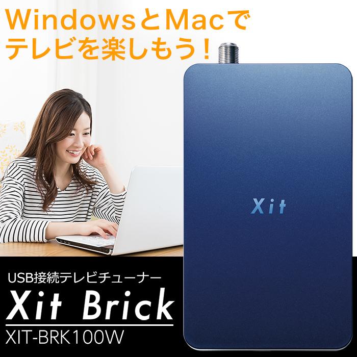 PIXELA(ピクセラ) Xit Brick(サイト ブリック) XIT-BRK100W