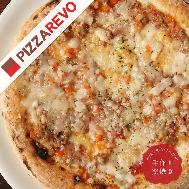 PIZZAREVO ピザレボ の冷凍ピザ ストアー ブランド品 福岡県産小麦100%使用 十勝産ラクレットと鴨肉のボロネーゼ 送料別