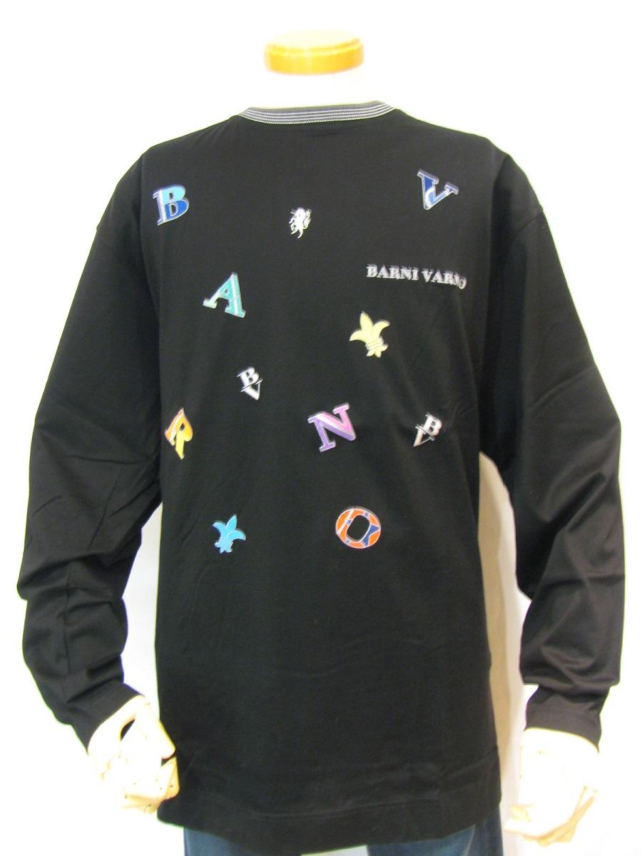 【35%OFF】【バーニヴァーノ】【長袖】【Tシャツ】【LL】【大きなサイズ】【SALE】【送料無料】【BARNI VARNO】