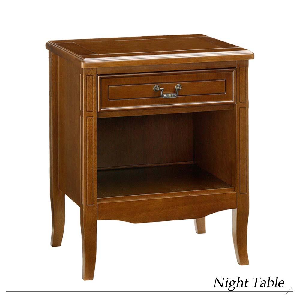 『ナイトテーブル』 テーブル ナイトテーブル 木製 新生活 天板 アンティーク ベッドサイド ウォールナット サイドテーブル
