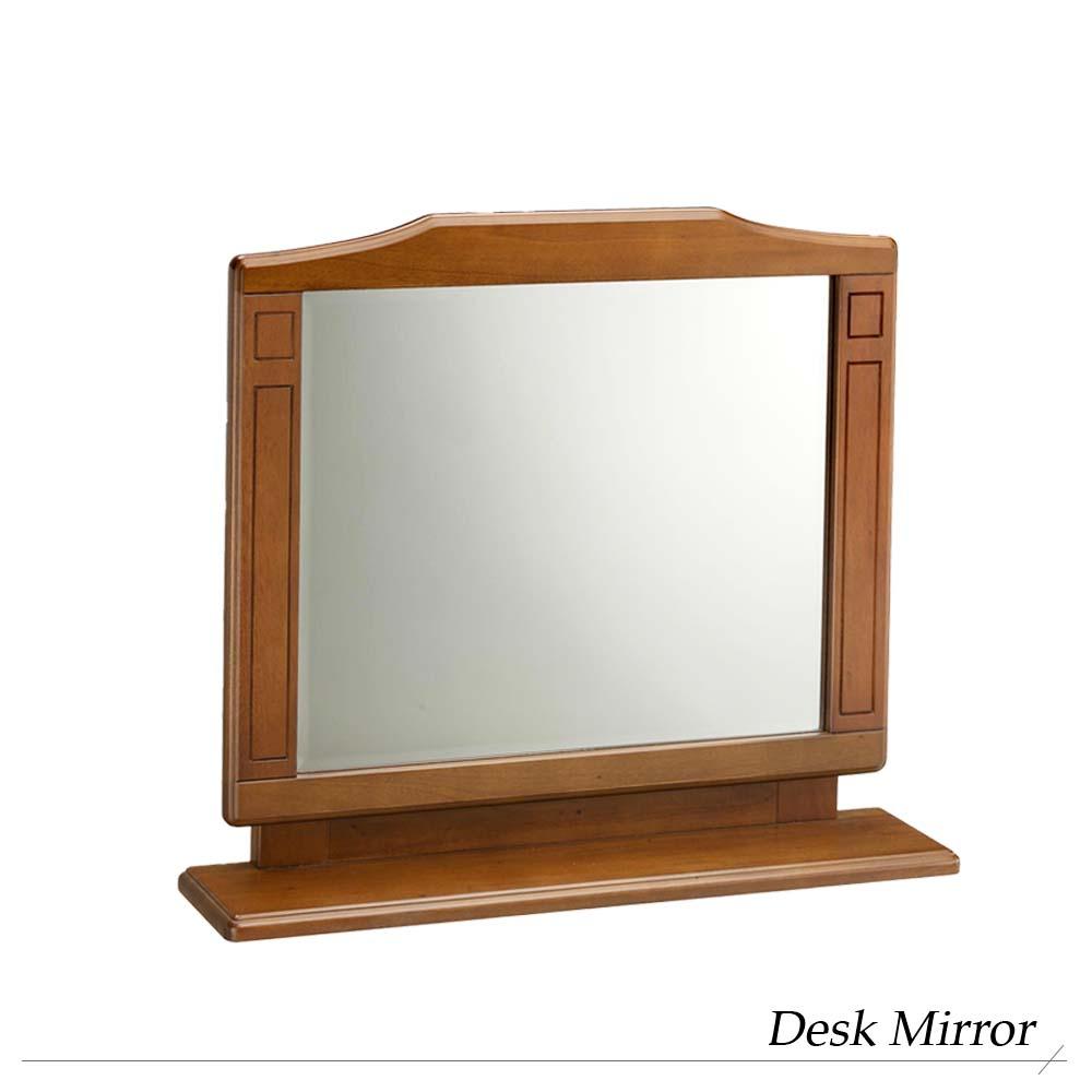 【送料無料】『ミラー』 鏡 スタンドミラー 木製フレーム 姿見 かがみ カガミ 新生活 アンティーク 卓上 ブラウン 送料無料 木製 ドレッサー ミラー フレーム 身だしなみ インテリア家具 アンティーク調