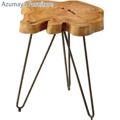 テーブル サイドテーブル 木製テーブル コーヒーテーブル ナイトテーブル ベッドサイドテーブル ミニテーブル 花台 ディスプレイ台 木製 おしゃれ かわいい 可愛い 北欧 シンプル リビング 書斎 子供部屋 子ども部屋 店舗用 ディスプレイ用 3本脚 天然木使用 ギフト 贈り物