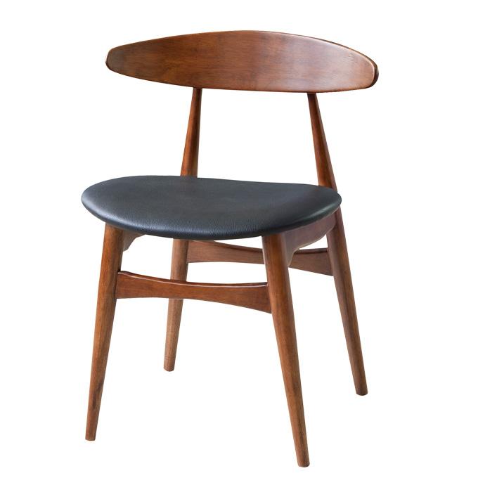 ダイニングチェア ダイニングチェアー チェア 椅子 イス 食卓椅子 いす チェアー 木製チェア 木製イス 業務用椅子 店舗用椅子 業務用チェアー 木製椅子 木製ダイニングチェア おしゃれ 北欧 シンプル 天然木 木製 ラバーウッド 合成皮革 合皮