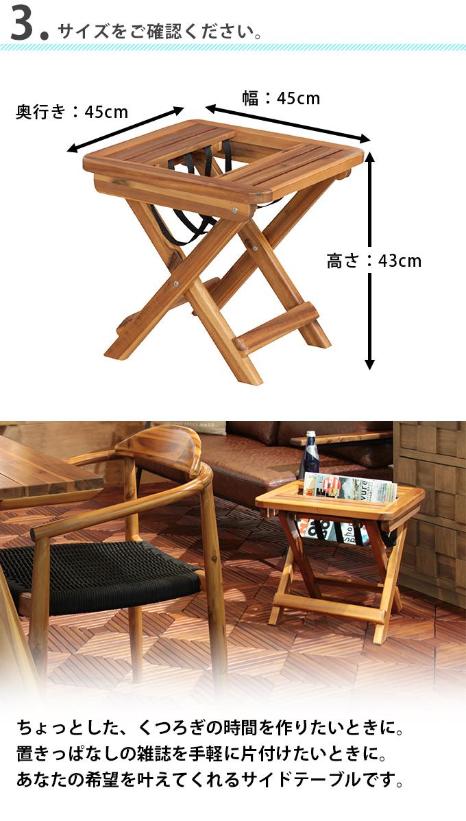 Side Table Folding Side Table Sofa Mini Table Nightstand Bedside Table Wood  Table W Folding Table Wood Natural Wood Acacia Simple