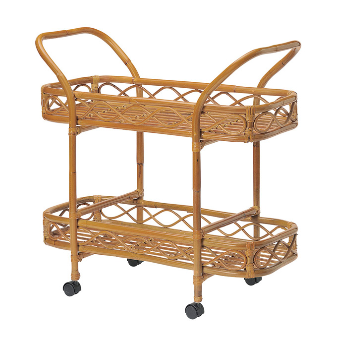 Plank Rakuten Shop Ratan Wagon Wagon Side Wagon Kitchen Trolley